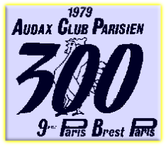 My Number on the 1979 Paris-Brest